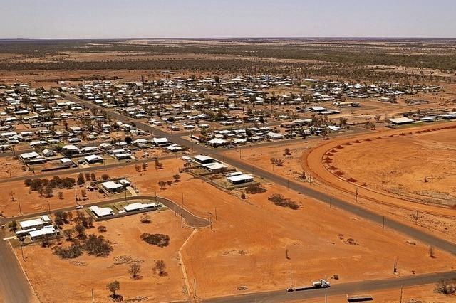 Gratis-Land im Outback zu vergeben