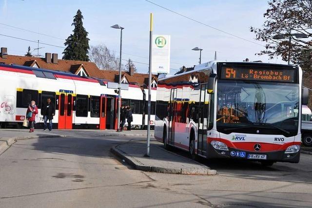 Die Anschlüsse beim Regiobus im Kreis Lörrach müssen klappen