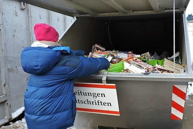 Das Waldkircher Recyclingzentrum muss umziehen